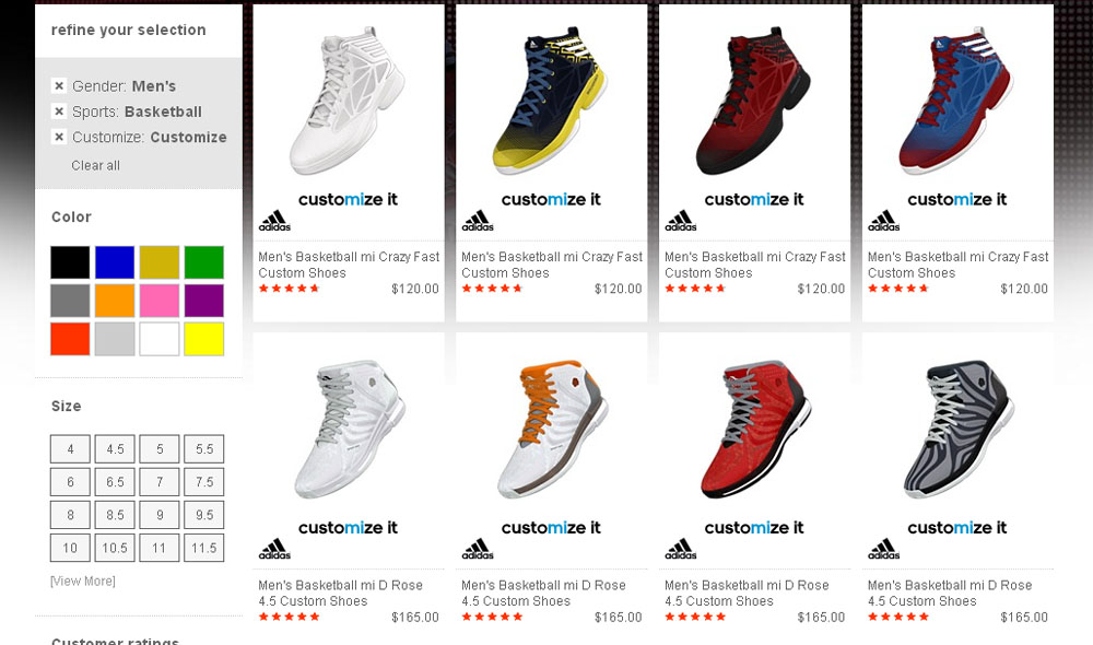 adidas shoe websites