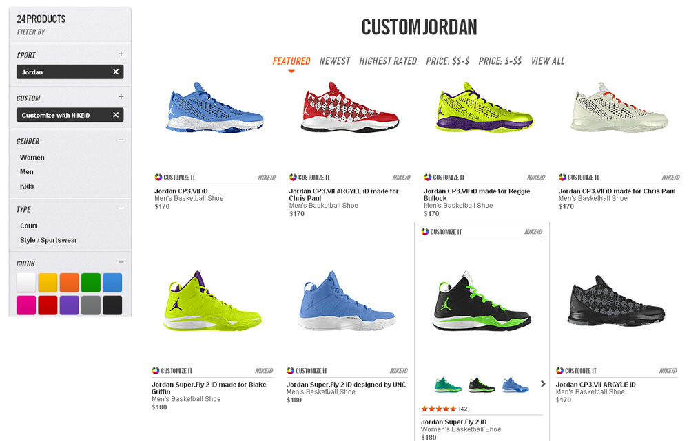 Shoes online. Design jordans shoes online