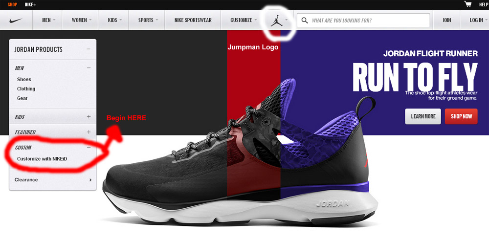 Customize Your Own Jordans Shoes Online