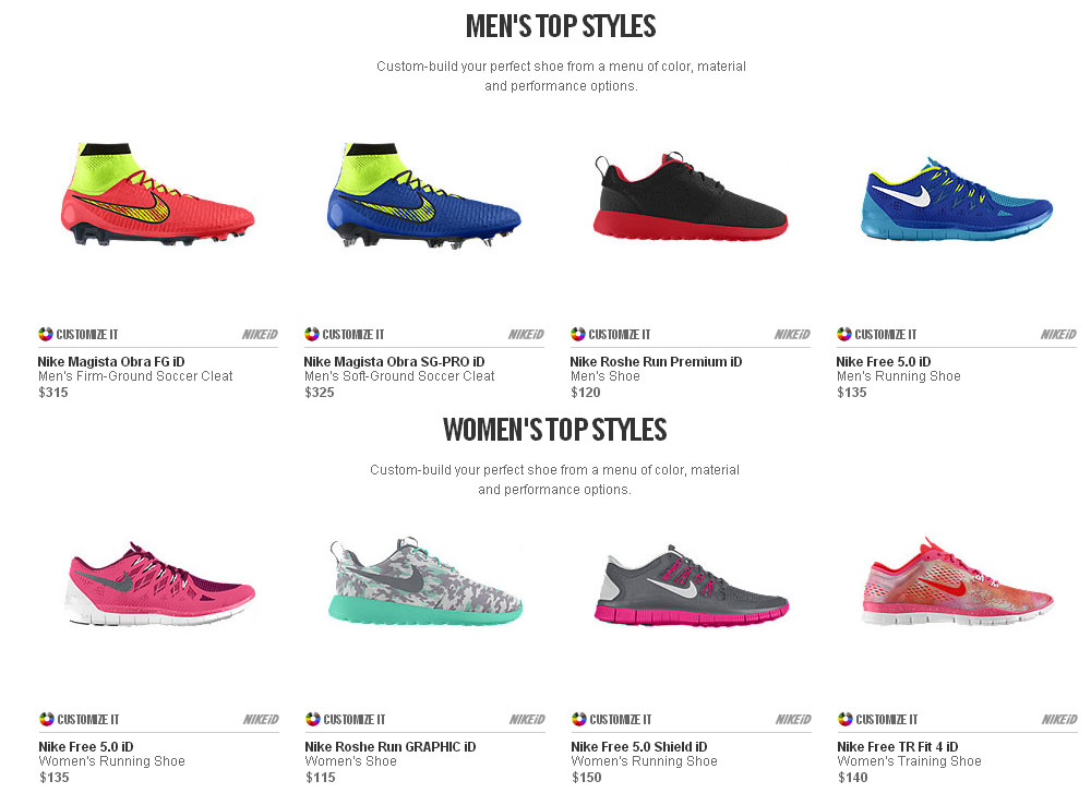 Customize Your Own Nike Shoes | ShoesHotel