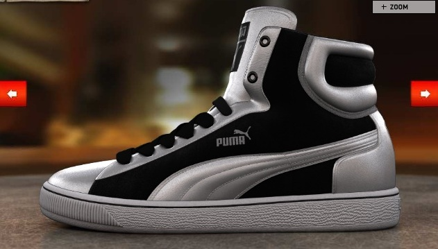 customize design Puma shoes