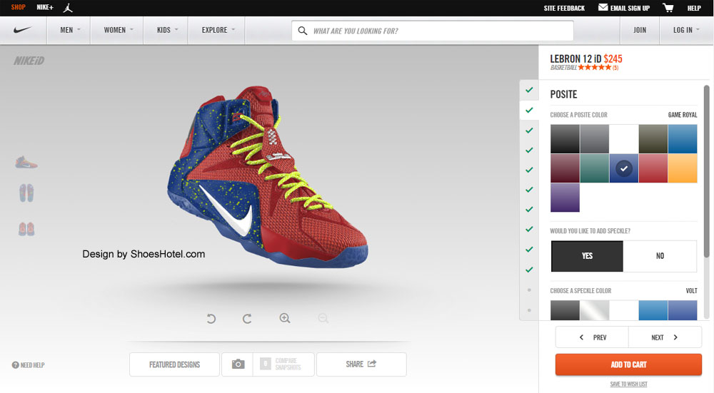 create your nike shoes